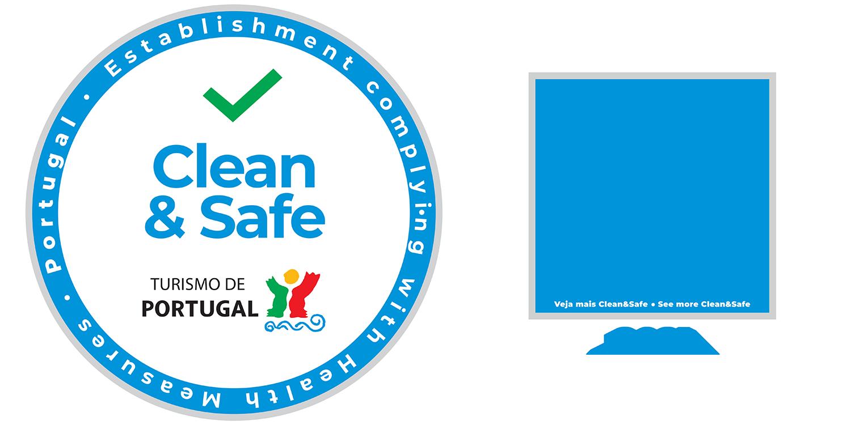 Selo clean and safe 2021 - Pavilhão do Conhecimento