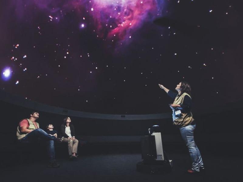 Sessão de planetário