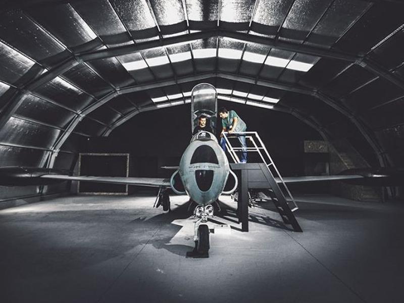 Entre no Cockpit de um caça da Força Aérea Portuguesa