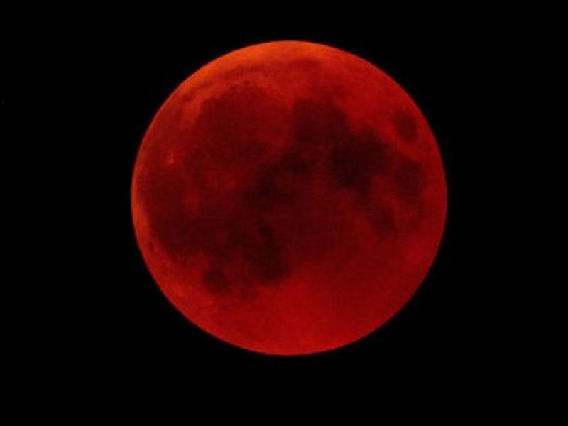 Eclipse Total da Lua - transmissão em direto