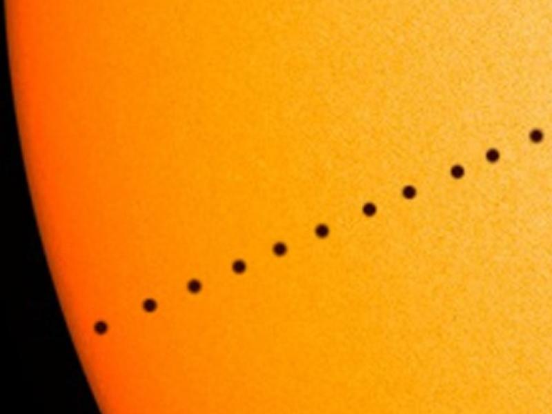 Trânsito de Mercúrio - 11 novembro 2019