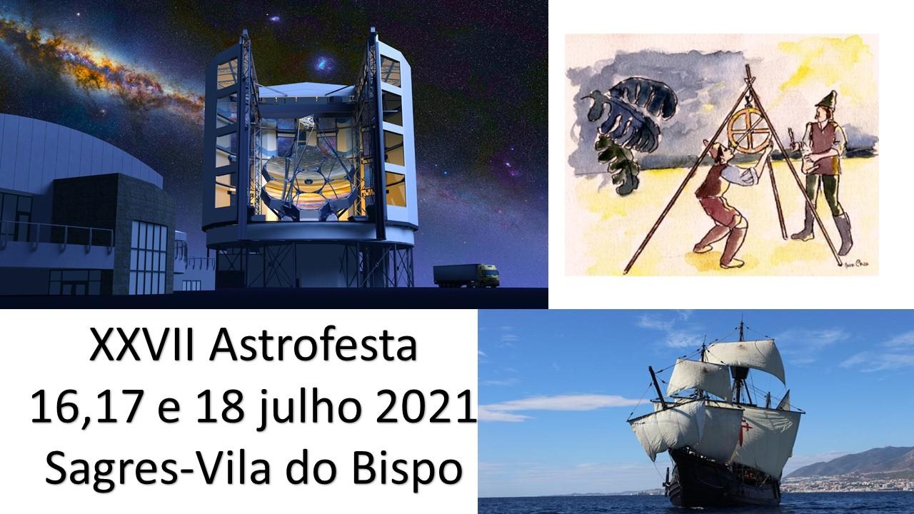 XXVII Astrofesta - 5, 6 e 7 de agosto 2022