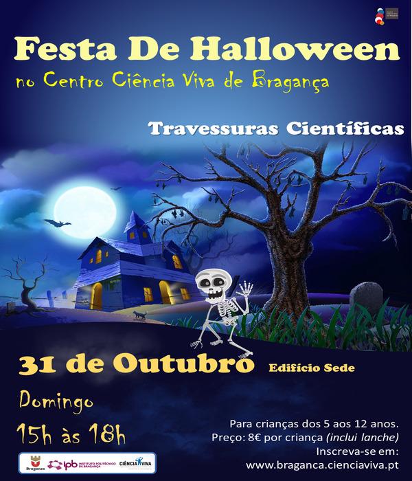 O Halloween chega ao CCVB na tarde de 31 de Outubro!