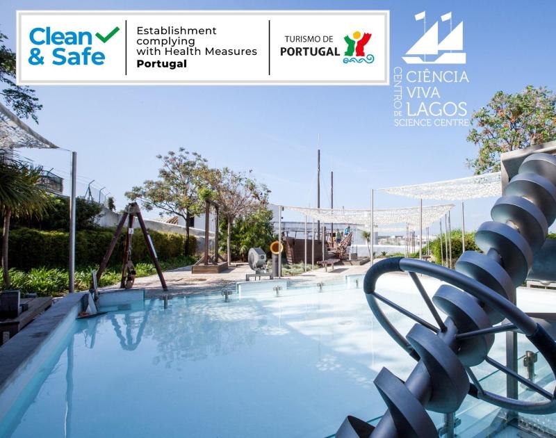 Selo de Clean & Safe atribuído pelo Turismo de Portugal