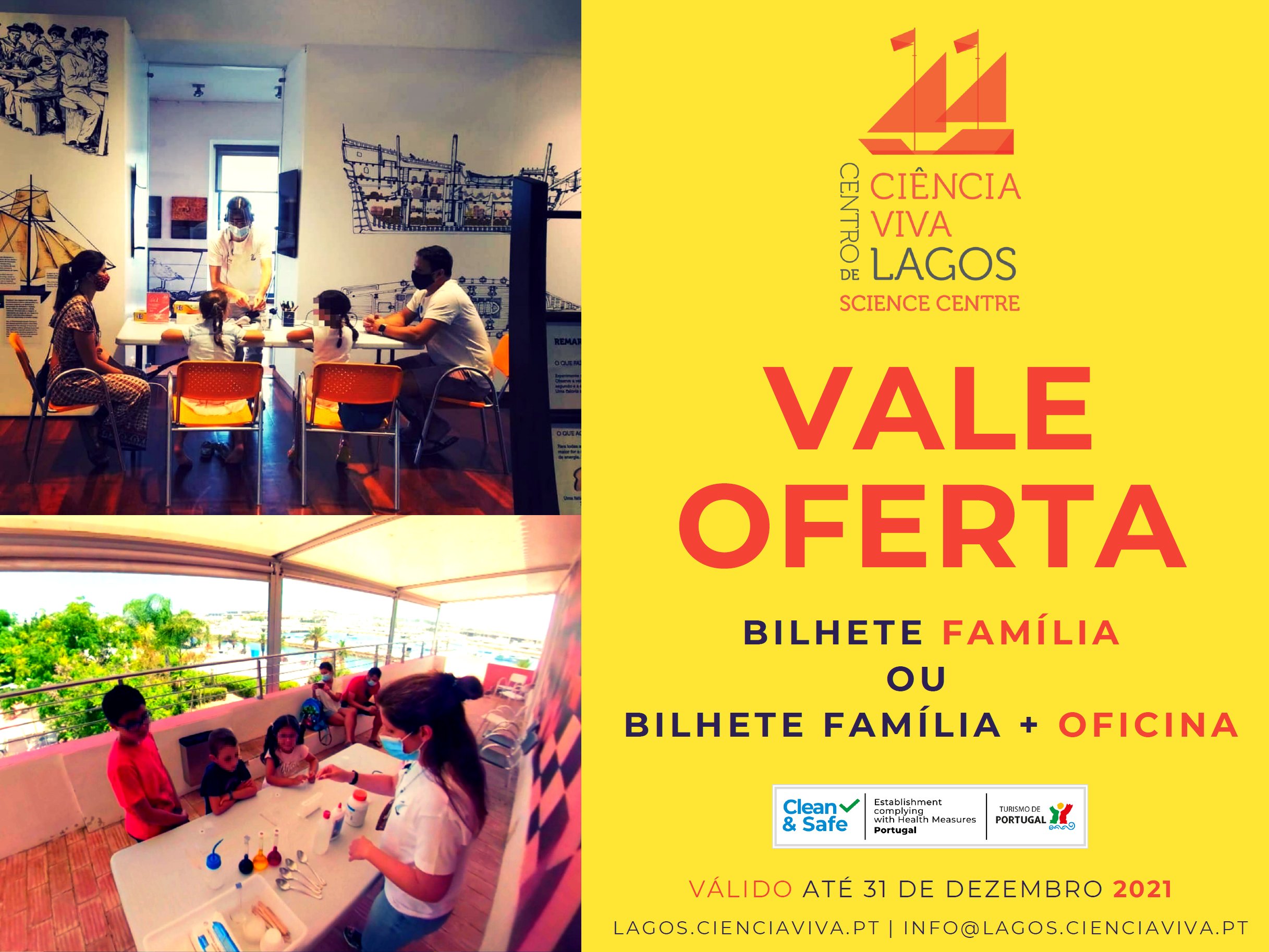 Vale Oferta |  Centro Ciência Viva de Lagos