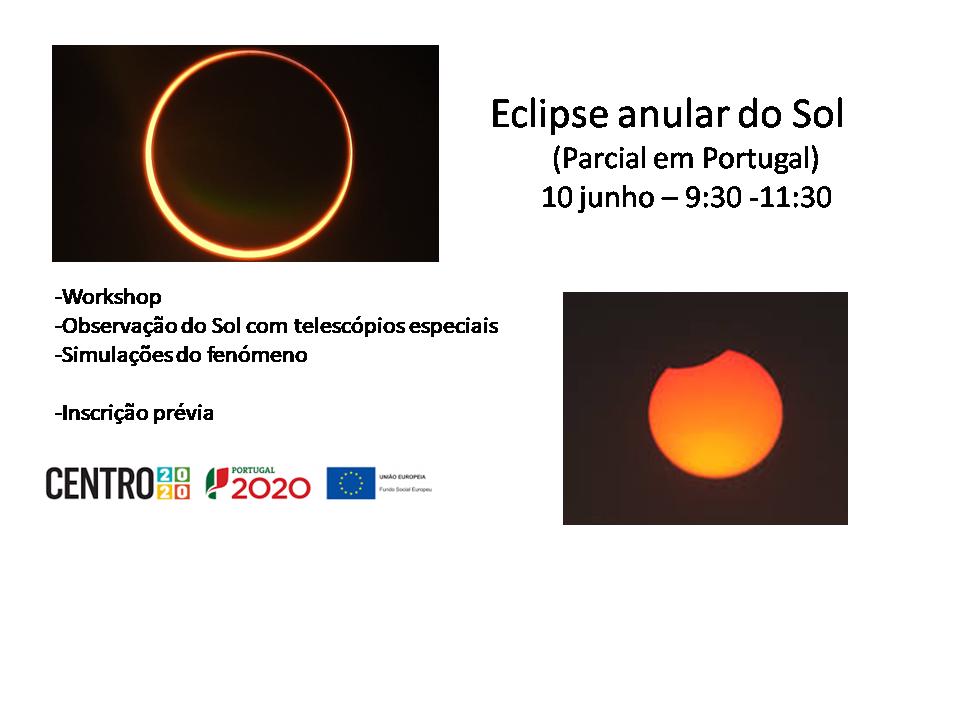 Eclipse Anular do Sol - 10 junho