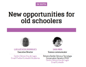 Novas oportunidades para alunos idosos